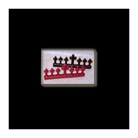 SETE ENCRUZILHADAS CM 22 x 8 Color rosso
