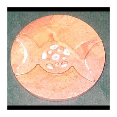 Tre lune pietra saponaria