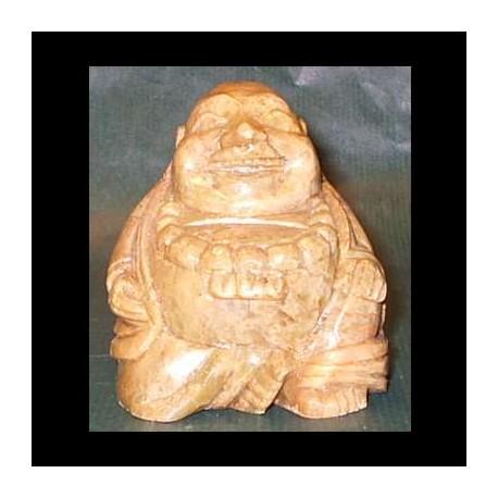 Budda in pietra saponaria
