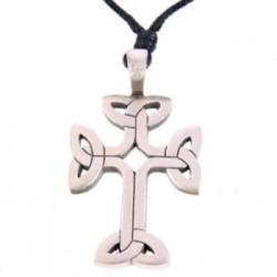 Ciondolo con Croce Celtica in Peltro