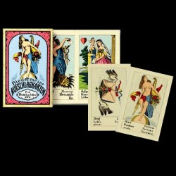 BIEDERMEIER FORTUNE TELLING CARDS -Cartomancy deck-