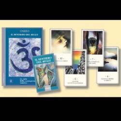 OSHO Il sentiero del reale, le carte della consapevolezza tantrica -cofanetto carte + libro-