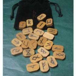 rune legno semplice