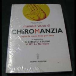 manuale visivo di chiromanzia di Valter Curzi
