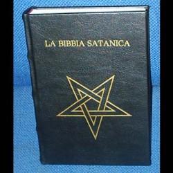 la bibbia satanica in ecopelle
