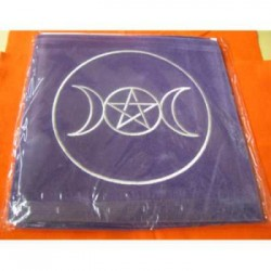 Tarot cloth tre lune