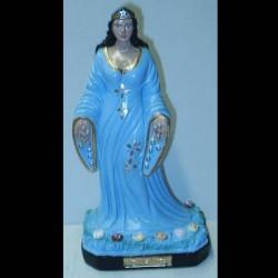 statua iemanja celeste 9,5cm