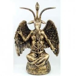 Statua in gesso Baphomet