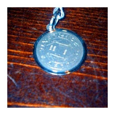 talismano in argento Tetragrammaton
