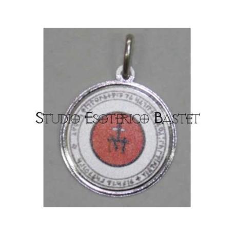 Talismano in argento segno di Maria