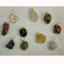 Ciondoli in pietre varie