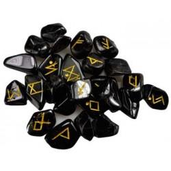 Rune in Tormalina nera