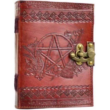 libro delle ombre in pelle