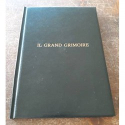 IL GRAND GRIMOIRE in ecopelle