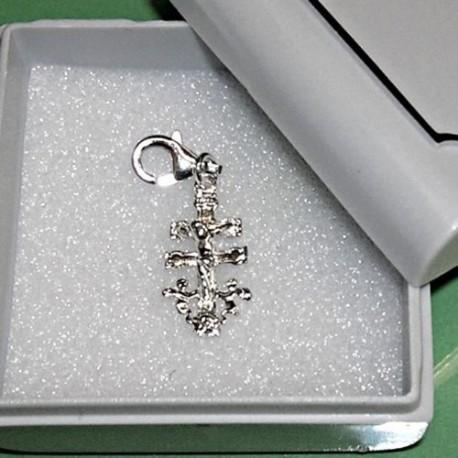 croce de caravaca in argento sterling 925