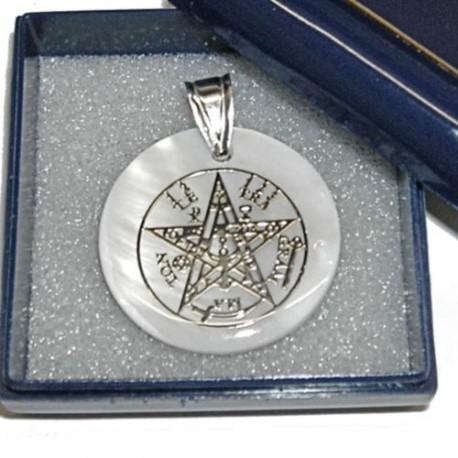 Tetragrammaton in argento sterling 925