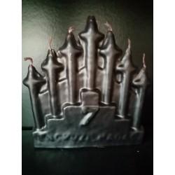 Statua in cera 7 Encruzihadas Nera
